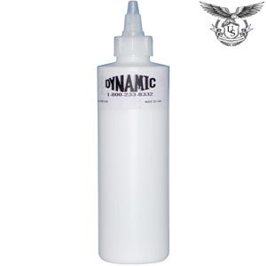 Dynamic white tattoo ink us tattoo supply for Tattoo ink dynamic