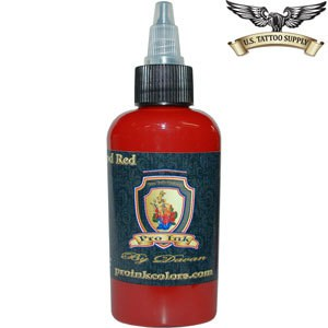 pro tattoo ink blood red us tattoo supply